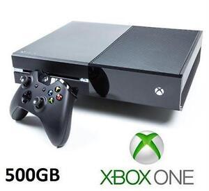 XBOX ONE 500GB CONSOLE W/ 1 CONTROLLER - REFURBISHED