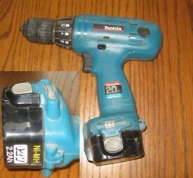 used makita battery drill