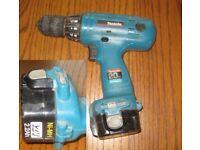 used makita battery drill