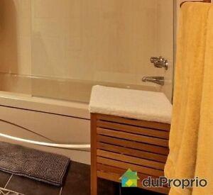 Tabouret rangement salle de bain