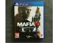 Mafia 3 on the Playstation 4 / mint like new / cash or swaps
