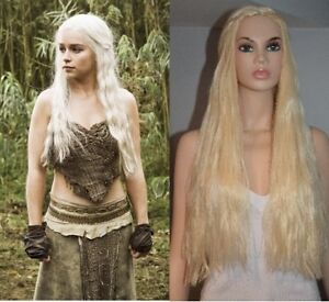 BRAND NEW: Blonde Game of Thrones KHALEESI Cosplay Wig