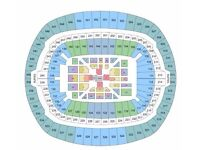2 x Joshua V Klitschko tickets Block 108 with coach from Southampton