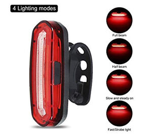 BRAND NEW LED Bike Tail Light (4 Lighting Modes)