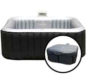 Brand new hot tub softub soft tub portable spa - SQUARE 6 PERSON