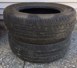 2 used tires