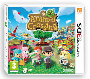 Animal Crossing New Leaf 3DS NEW UK