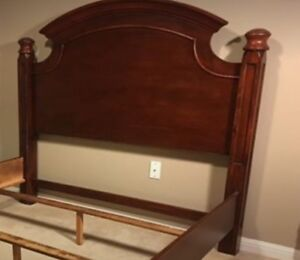 Wanted: Wood Broyhill Queen Bed / Headboard