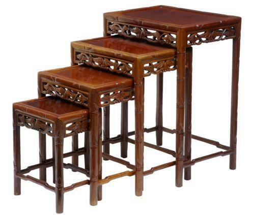 Chinese Nesting Tables EBay