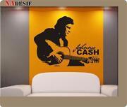 Wandtattoo Johnny Cash