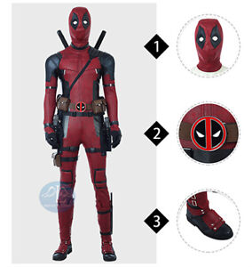 Deadpool 2 high quality cosplay costume outfits