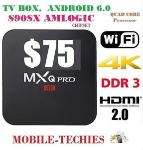 ANDROID BOX MXQ PRO, KODI 17... VERY FAST TV BOX. EASY TO USE