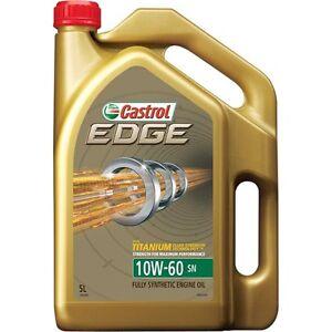 Castrol Edge Engine Oil - 10W-60, 5 Litre - Super Cheap Auto