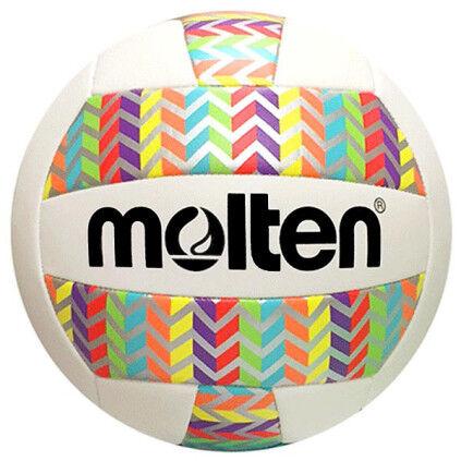 Molten MS500 Rainbow Chevron Volleyball