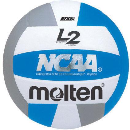 Molten L2 IVU-HS Volleyball - Blue/White/Silver