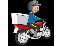 fast food delivery rider needed