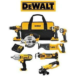 NEW DEWALT 20V 8-TOOL COMBO KIT DCK881D2 248465036 POWER TOOLS LITHIUM ION CORDLESS