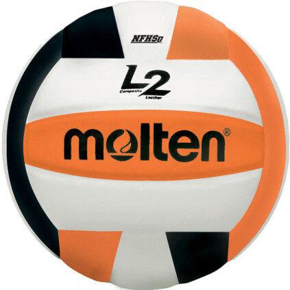 Molten L2 IVU-HS Volleyball - Black/White/Orange