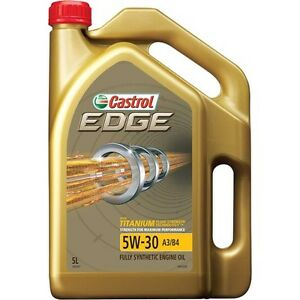 Castrol Edge Engine Oil - 5W-30, 5 Litre - Brand NEW Super Cheap Auto