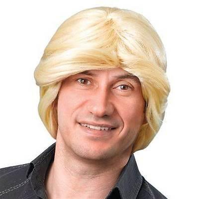 TONY PERÜCKE. BLOND, AUTOVERKÄUFER, PARTY PERÜCKE HALLOWEEN #DE