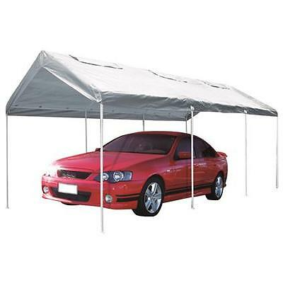 SCA Temporary Carport - With Vents, 3 x 6 x 2.7m - Super ...