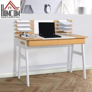 NEW* HOMCOM COMPUTER DESK 836-033 201465361 WRITING TABLE WORKSTATION