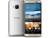 average conditioned ACE HTC One M9 - 32GB - (Unlocked) Smartphone