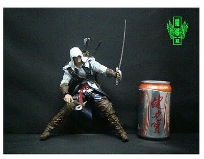 "9"" Assassins' Creed III 3 Action Figure 2012 New in Box Freeshipping on Rummage"