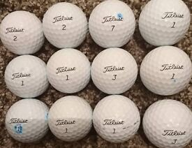12 Mint Condition Titleist Pro V1 Golf Balls