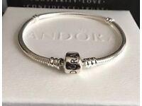 Genuine pandora bracelet 19cm