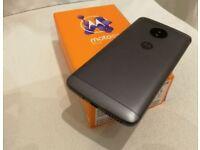 Motorola Moto E4 Plus. 4G Brand New, Unlocked, Dual Sim. 5.5 screen. Fingerprint lock, Slate