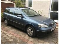 2001 Vauxhall Astra Estate - 11 months MOT - £485