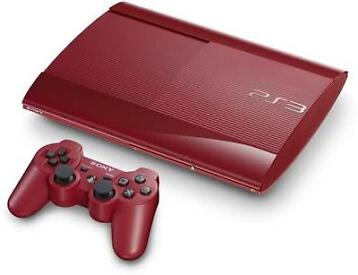 Tweedehands Sony Playstation 3 Super Slim 500gb Rood