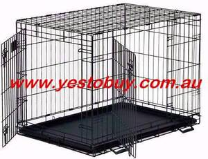 """36""""Metal Pet Dog Cat Puppy Train Cage Crate Pen Divider,Cover,mat Mordialloc Kingston Area Preview"""