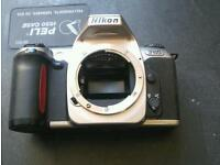 Nikon F65 35mm film camera.