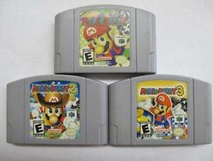 mario party 1, mario party 2, mario party 3, Super Smash Bros.