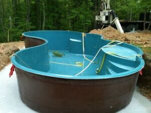 Fiberglass Pool Shell Sale