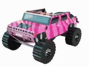 MONSTER TRUCK Custom Made Twin Size Bed ... ♥‿♥