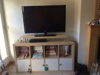 Birch expedit TV stand/unit/bookcase