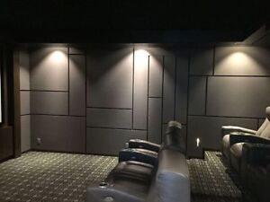 ACOUSTIC PANELS FOR HOME THEATERS, ROOM ACOUSTICS, TUNING