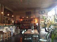 Full Time Barista & Full Time Chef @ L'atelier Dalston