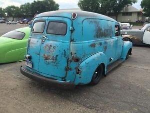 WANTED: 1947-54 Chevrolet/GMC Panel Van Rear Doors