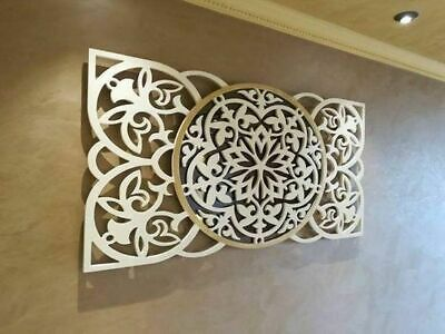 Dxf-cdr Of Plasma Laser And Router Cut -cnc Vector Panel