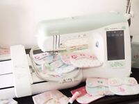 Brother Innovis 2200 (Laura Ashley limited edition) sewing/embroidery machine