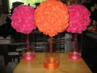 Personalized center pieces for any party