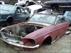 WANTED - 1968 Mustang convertible