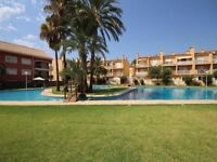 Duplex Apartment with Pool, for 10 People, Located on Arenal Beach Javea Xabia Alicante Costa Blanca
