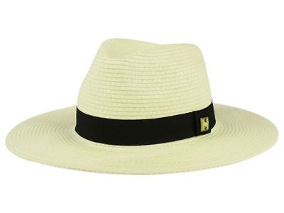 Peter Grim Wide Brim Bamberg Fedora Cap Hat with Black Band Small Medium