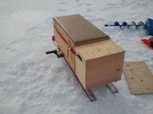Skis to make your own Ice Fishing Hut, Sled, Carrier, Shotski