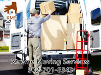 Xtreme Moving Service last minute on call 701-8343